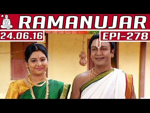 Ramanujar-Epi-278-24-06-2016-Kalaignar-TV