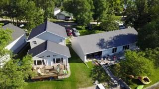 Drone video from Enemy Swim Lake in Northeastern South Dakota - July 2017