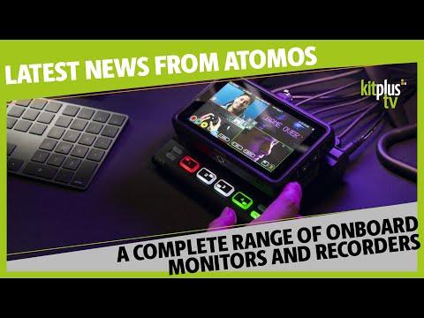 Atomos Ninja V Plus, Atomos Shinobi 7 and Atomos NEON Range overview - KitPlus