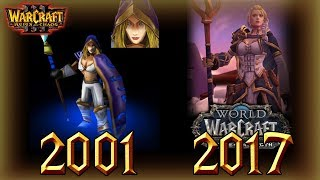 Evolution of Jaina Proudmoore│Lore, Model and Personality│World of Warcraft
