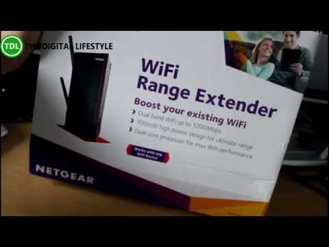Netgear High Power WiFi Range Extender (EX6200)