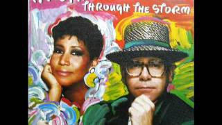 "Aretha Franklin - Through The Storm / Come To Me - 7"" Spain - 1989"