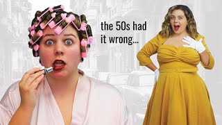 I Followed 1950s Beauty Standards For A Day