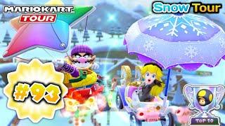 Mario Kart Tour - Bowser JR Cup 150cc - Snow Tour 🏔️❄️ [60fps]