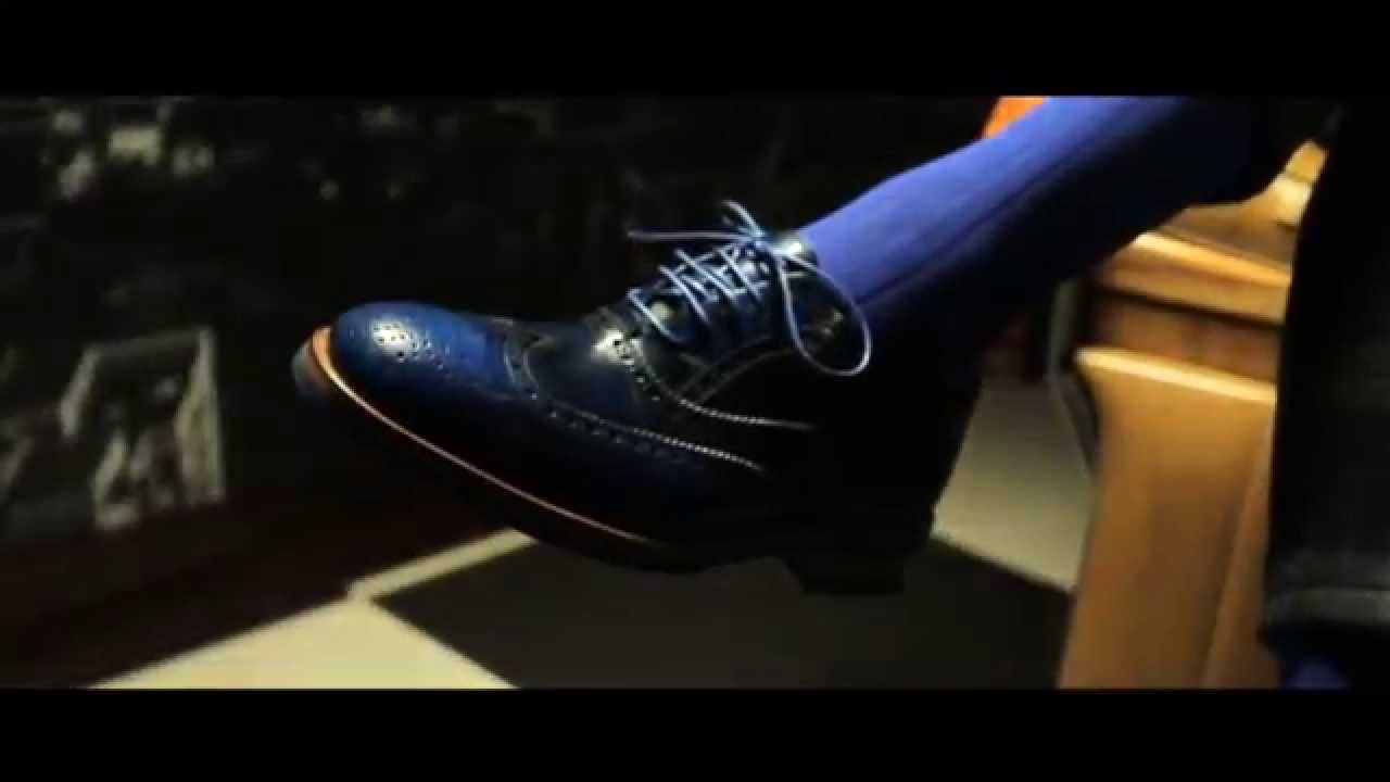 Colombo Ankle Wing Brogue // White (Euro: 41) video thumbnail