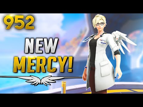 *NEW* Mercy SKIN IS GORGEOUS... | Overwatch Daily Moments Ep. 952 (Funny and Random Moments)