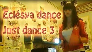 "Eclésya dance sur Just dance 3 ( PS3 )  Anja -- ""Dance All Nite"""
