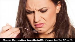 What Is Dysgeusia Or Metallic Taste In Mouth  - Top Natural Health Tips To Get Rid Of Metallic Taste