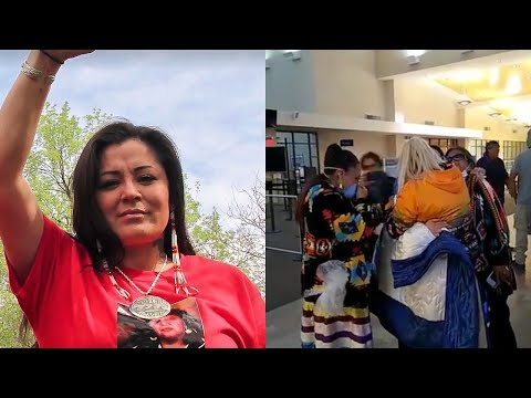 Activist Framed By FBI? Red Fawn Fallis Freed ft. Joshua Kahn Russell