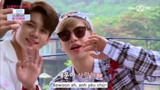 [VIETSUB] OngNiel cut - Giây phút yếu lòng của Daniel (Wanna One Go ep 2 cut)