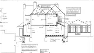 Architectural Plans for a two storey extension