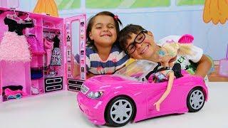 Fındık Ailesi Barbie Oyunları Oynuyor