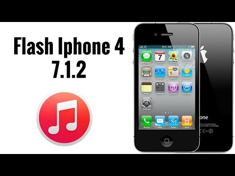 How to flash Iphone 4