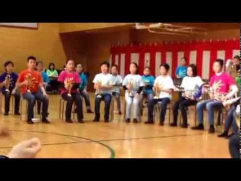 台東育英小学校第25年度金管バンド定期演奏会