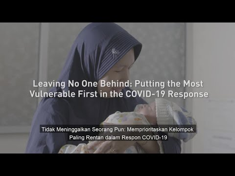 Leaving No One Behind: Putting the Most Vulnerable First in the COVID-19 Response