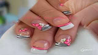 Uñas Decoradas Con Flores Free Video Search Site Findclip