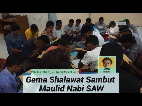 Salawat Menggema di Aceh Sambut Maulid Nabi Muhammad SAW