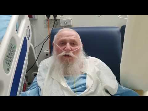 הרב דרוקמן מבית החולים: מודה לכל המתפללים לשלומי, מרגיש הרבה יותר
