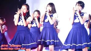 JKT48 (Undergirls)   Sedikit Saja I Love You (Hikaeme I Love You) @ HS So Long 20170513