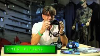 Маска для подводной охоты ZERO 3 Omer от компании Магазин Calipso dive shop - видео