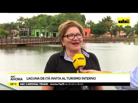 Laguna de Itá invita al turismo interno