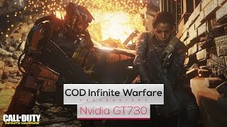 Call of Duty: Infinite Warfare on Intel Core 2 Quad Q8400 & Nvidia GT730