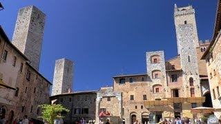 preview picture of video 'San Gimignano - the medieval Manhattan, Tuscany (Toscana), Italy (Italia) [HD] (videoturysta)'