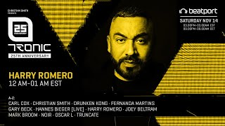 Harry Romero - Live @ Tronic 25th Virtual Anniversary, Autumn 2020