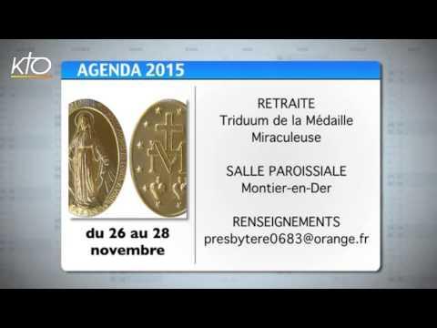 Agenda du 20 novembre 2015