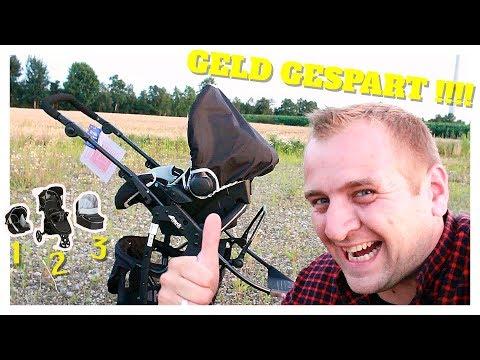 🔴🍼KINDERWAGEN HAUCK VIPER SLX TRIO SET TEST - Review Deutsch  Kinderwagen Test