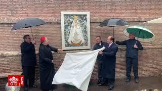 La imagen de la Virgen de El Quinche en los Jardines Vaticanos 2019-05-17