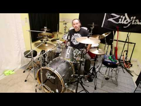 Wuhan 6 8 10 12 inch splash cymbal sound test review