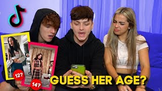 GUESS HER AGE CHALLENGE! (Tik Tok Edition) Ft. Bryce Hall & Addison Rae (PART 2)