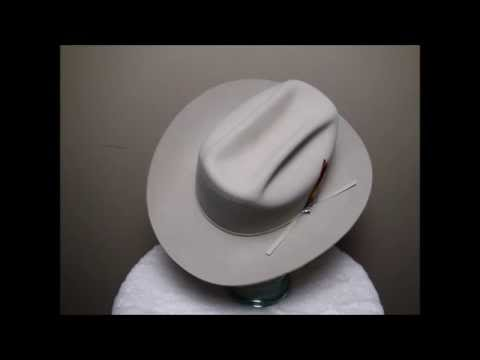 Stetson 4X Beaver Silverbelly Western Cowboy Hat