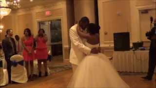 """Bride & Bride and Groom's 1st Dance - Endless Love with a """"POP!"""""""