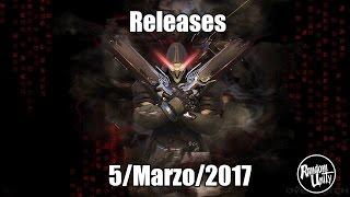 Releases 5/Marzo/2017