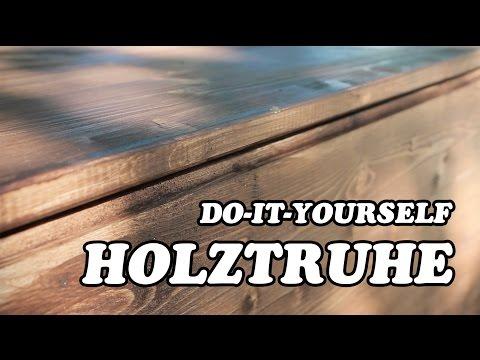 HOLZTRUHE SELBST HERSTELLEN