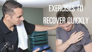 Exercises for a shoulder dislocation to help you recover quickly