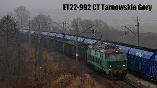 preview picture of video '[ PKP Cargo ] ET22-992 @ Toszek Północ.'