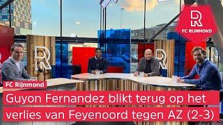 Guyon Fernandez in FC Rijnmond: 'Wordt een hele klus voor Slot om met dit Feyenoord goed voor de ...