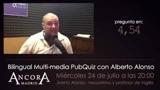 preview picture of video 'Pub Quiz Trivia Con Alberto Alonso #01'