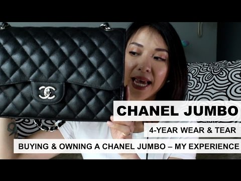 Chanel Jumbo: 4-year Wear & Tear | My Buying and Owning Experience