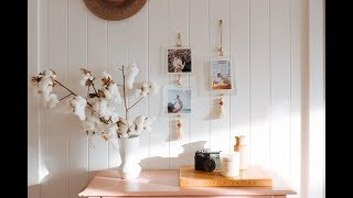 How To Create A DIY Tasseled Hanging Photo Display For Your Home