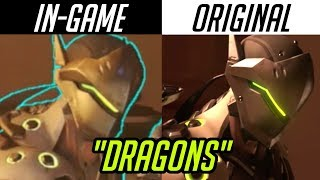 """""""Dragons"""" but it's ALL in-game 