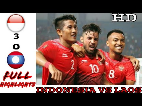 #ASIANGAMES2018 INDONESIA VS LAOS (3-0) FULL HIGHLIGHT ALL GOALS | HD