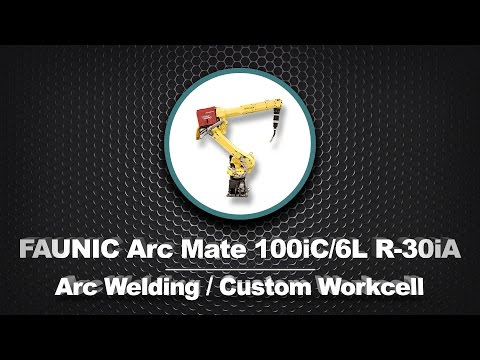FANUC ArcMate 100iC/6L R30iA Custom Welding Workcell