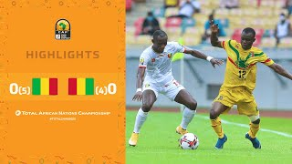 CHAN 2020 | Demi-Finale : Mali 0 (5) – (4) 0 Guinée