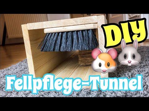 Fellpflege-Tunnel selber bauen | DIY