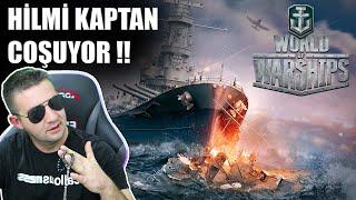 DENİZLERİN KAPTANI OLDUK | WORLD OF WARSHIPS !!