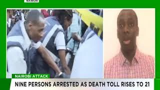 Sam Phatey speaks on Nairobi attack
